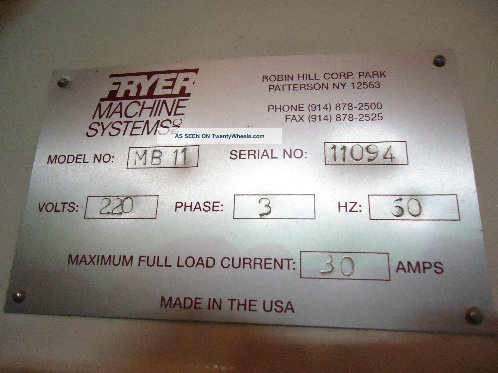 Fryer Mb - 11 Cnc Milling Machine Anilam 3300 Mk Control