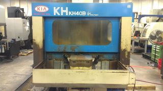 Kia Kh - 40b Horizontal Machining Center photo