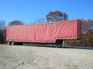 Curtain Side Semi - Trailer,  Soft Sided,  Tautliner,  48x10 - 3,  Load - Air Suspension, photo