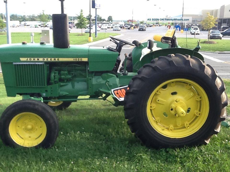 John Deere 1020 Engine : John deere diesel tractor