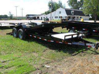 20 ' Load Trail 14k Tilt Flatbed Equipment Skidsteer Bobcat Trailer photo