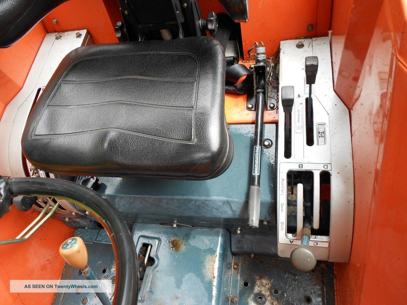 Kubota M4950dt Tractor Front Loader & Backhoe
