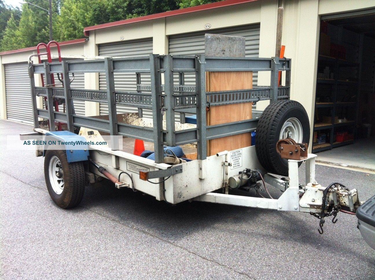 Hydraulic Drop Deck Trailer Blueprint : Equipment trailer safe vending tilt drop deck hydraulic