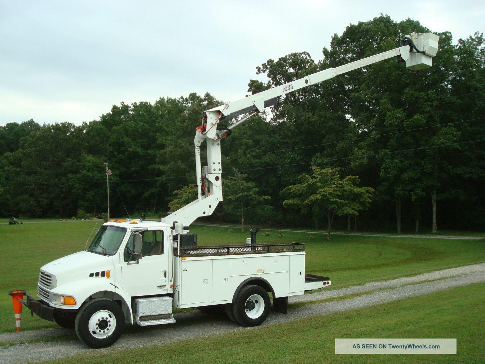 2001 Sterling Acterra M7500 Mti Bucket Truck 46 '