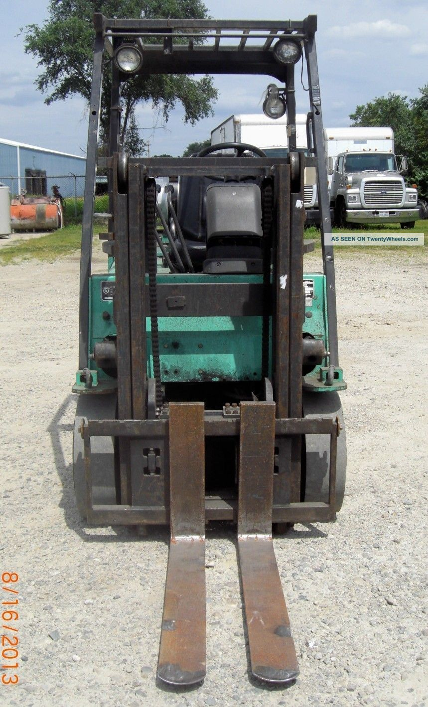 2004 Mitsubishi Fork Lift Diagrams Wiring Fg25 Schematic Fgc25k 5 000 5000 Cushion Tired Trucker Forklift Product Trucks Parts