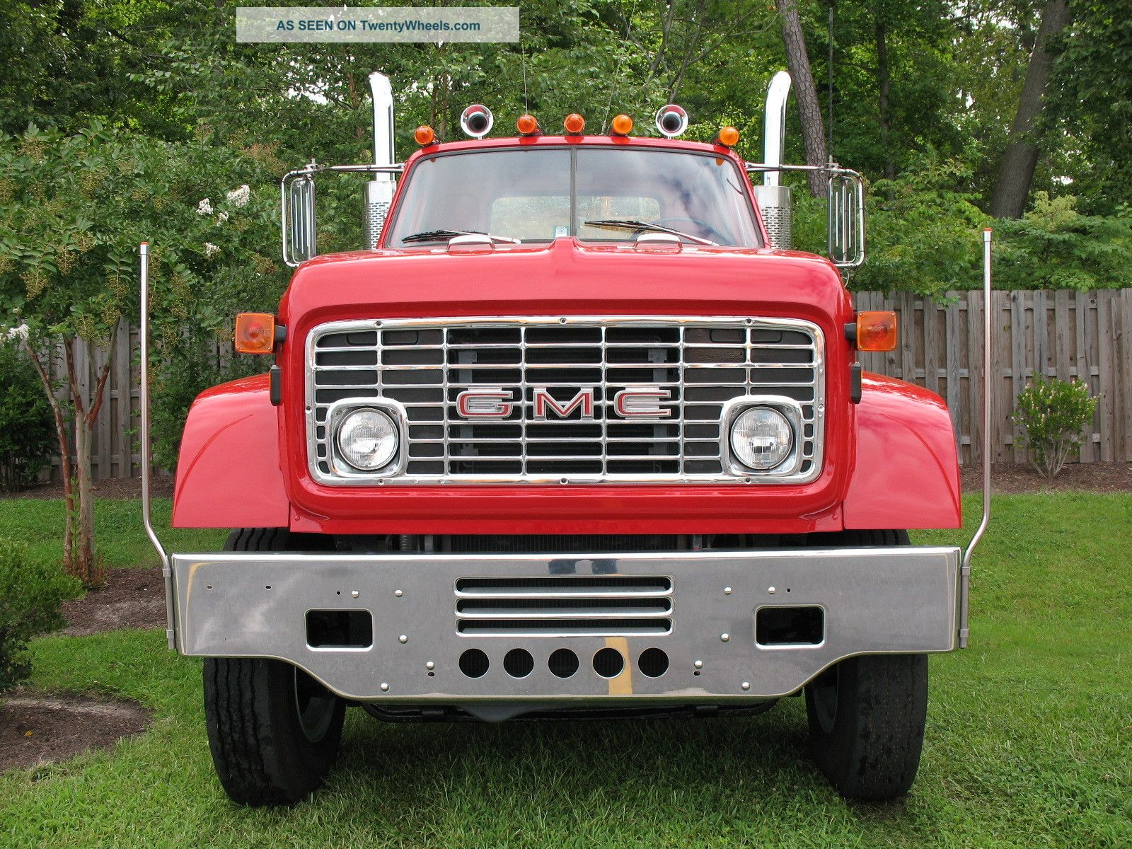 1973 Gmc Mh9500 Daycab Semi Trucks photo