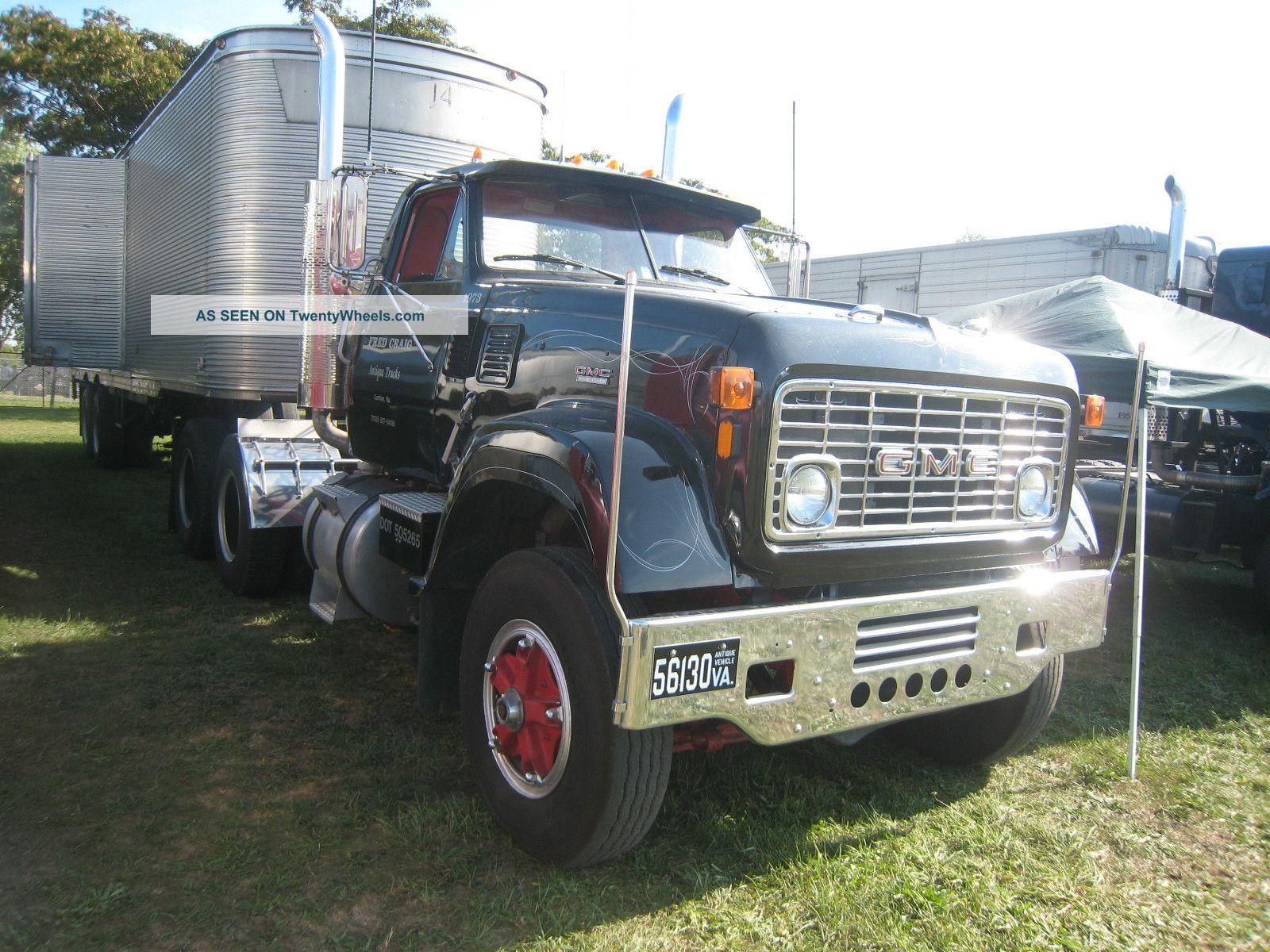 Gmc 9500 Semi Trucks Autos Post