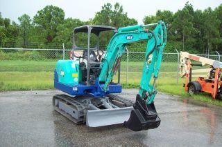 Ihi 28n2 Mini Excavator,  6500 Lbs,  Dig 8 ' 3
