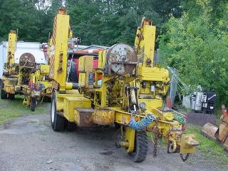 98 Altec Ad108 Self Propelled Underground Cable Puller Trailer Air Brakes photo