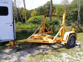 Cable Reel Trailer Self Loading photo