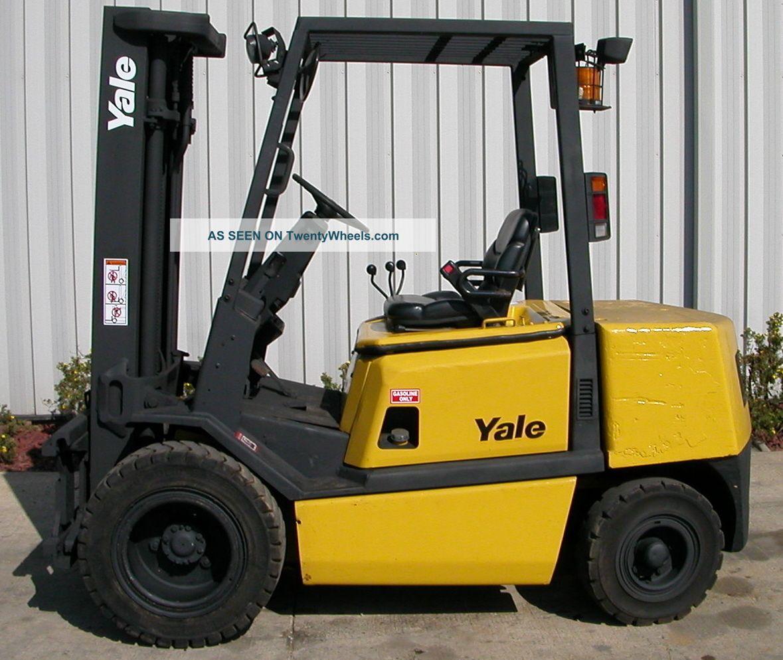 Yale Model Glp060tg (2002) 6000lbs Capacity Gasoline