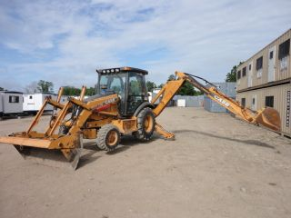 2001 Case 580 M 4x4 Backhoe,  Extendahoe,  Heat,  3rd Valve,  Erops,  2659hrs.  08848 photo