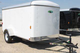 5x8 Enclosed Cargo Trailer Dallas Fort Worth Austin Waco Houston San Antonio Tx. photo