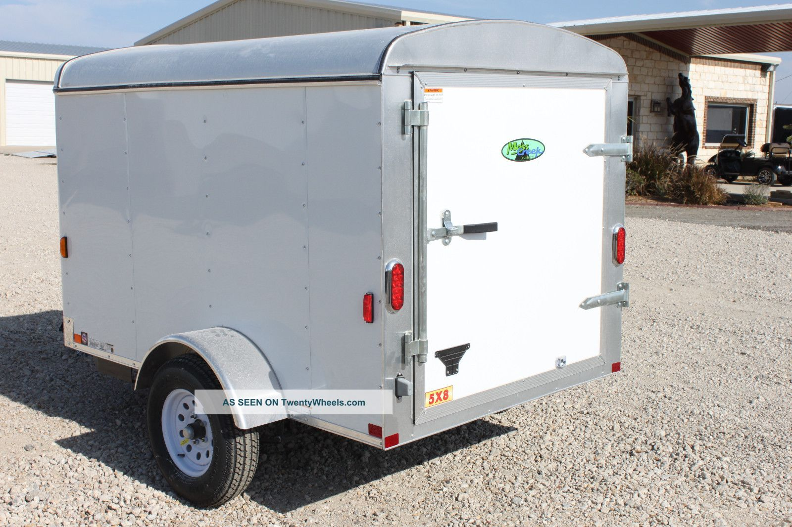 5x8 enclosed trailer
