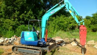 2005 Ihi 45nx - 2 Excavator Track Hoe Mini Excavator With Breaker photo