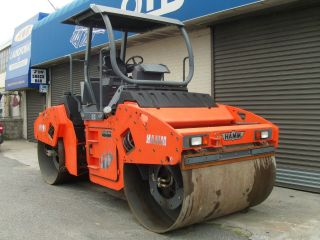 Hamm Hd 90 Roller Articulated Tandem Compactor Vibratory Drum Vibrating photo
