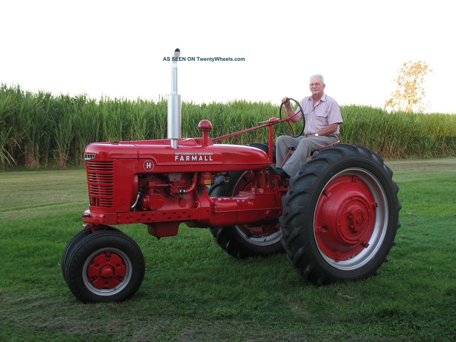 Restored Ih Tractors : Farmall h tractor fully restored show winner deceased estate
