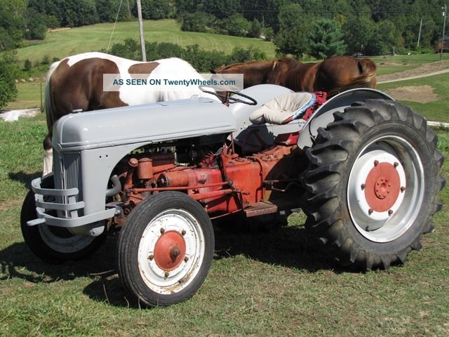 Ford 9n Restored : Antique all ford n tractor amazing ready to restore