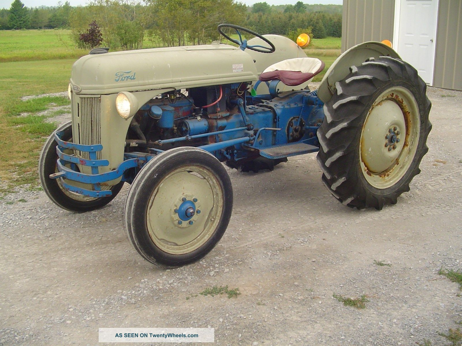 Old Ford Farm Tractors : Antique ford n tractor with pto and point