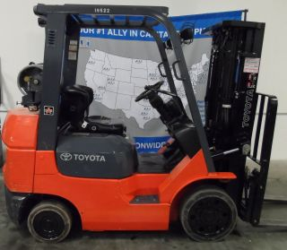 Toyota 7fgcu25 Forklift (ali 503131) photo