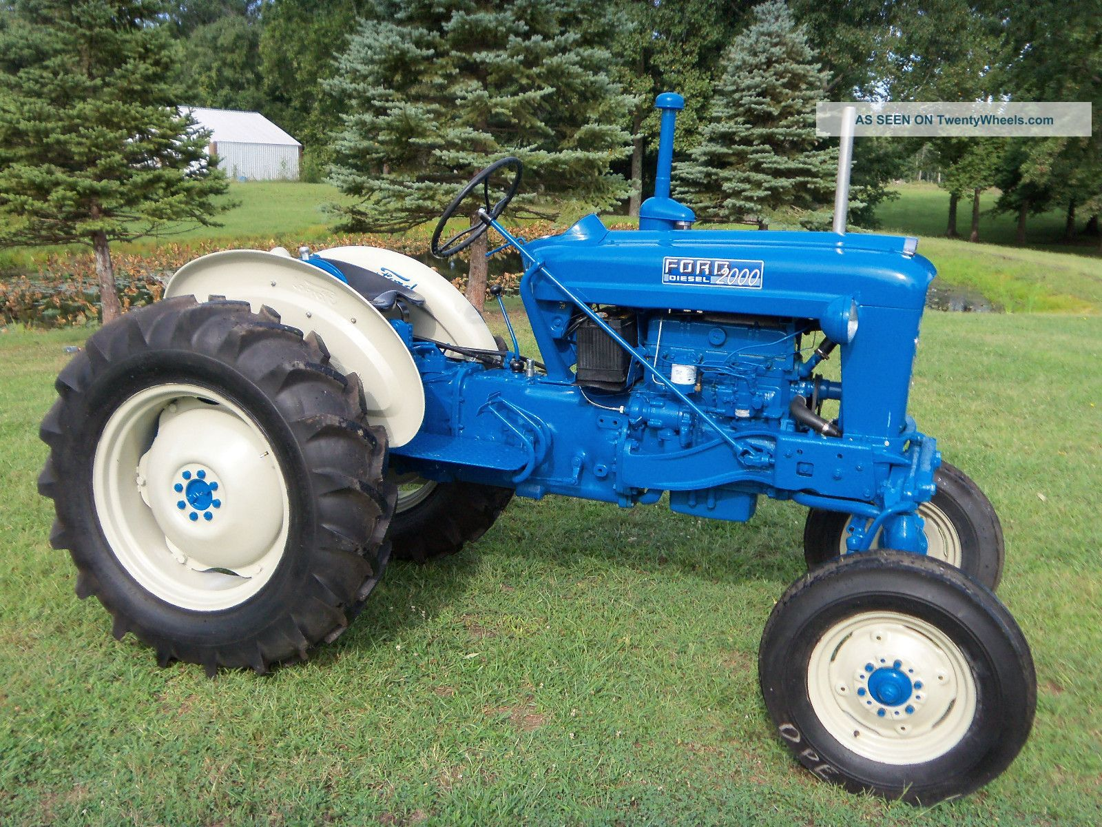 1963 Ford Tractor Model 2000 : The gallery for gt ford tractors