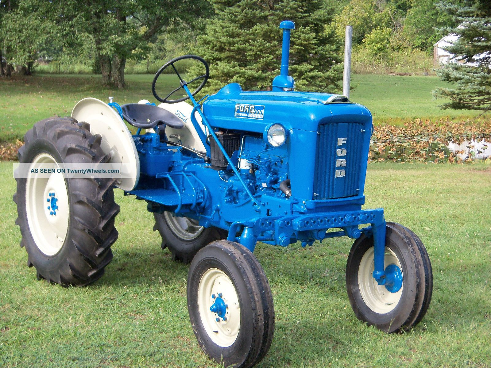 Industrial Ford 2000 Tractor : Ford off set tractor
