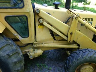 Ford 555 4 X 4 Backhoe photo
