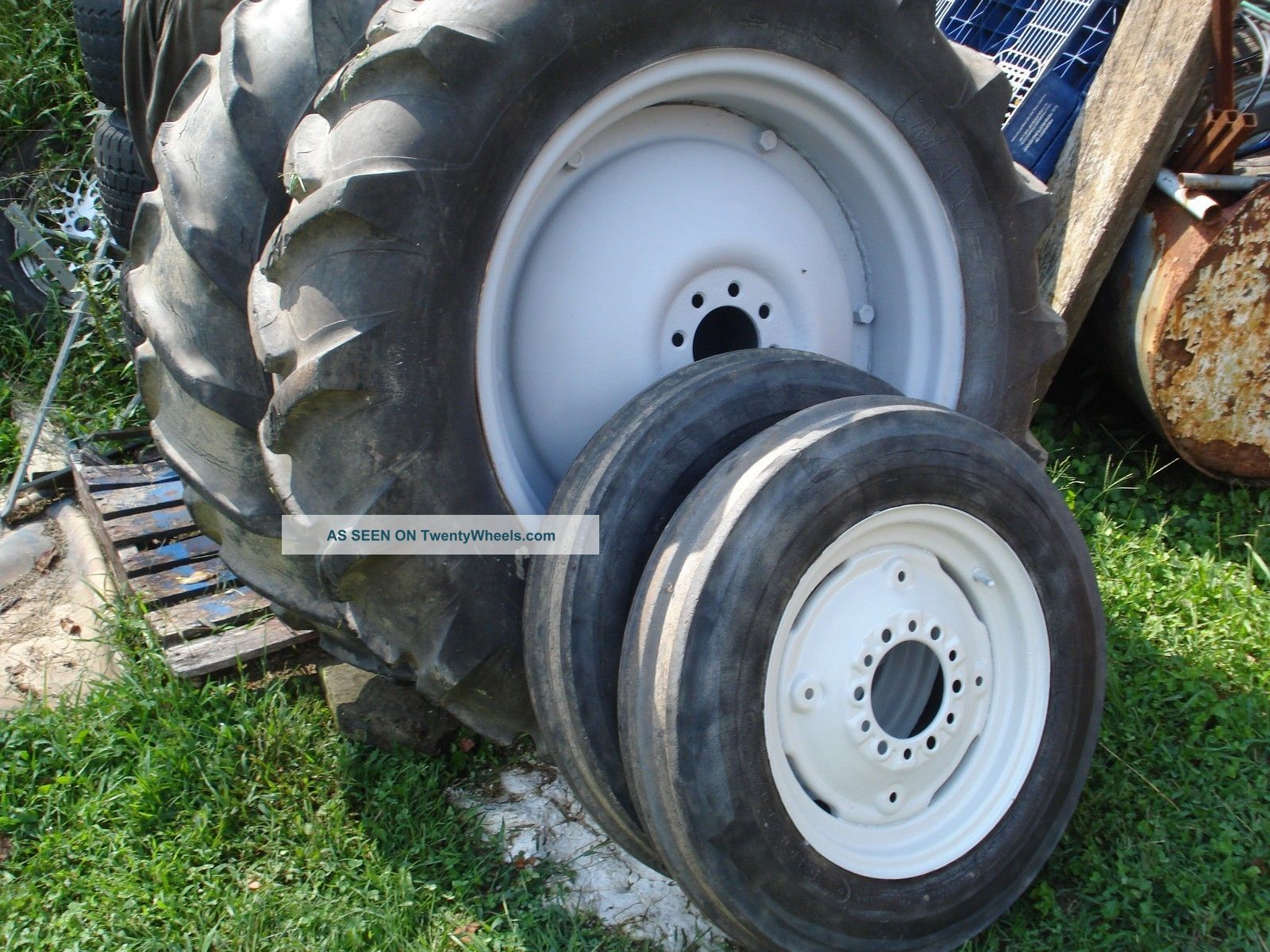 Farm Tractor Wheels And Rims : Ford farm tractor wheels