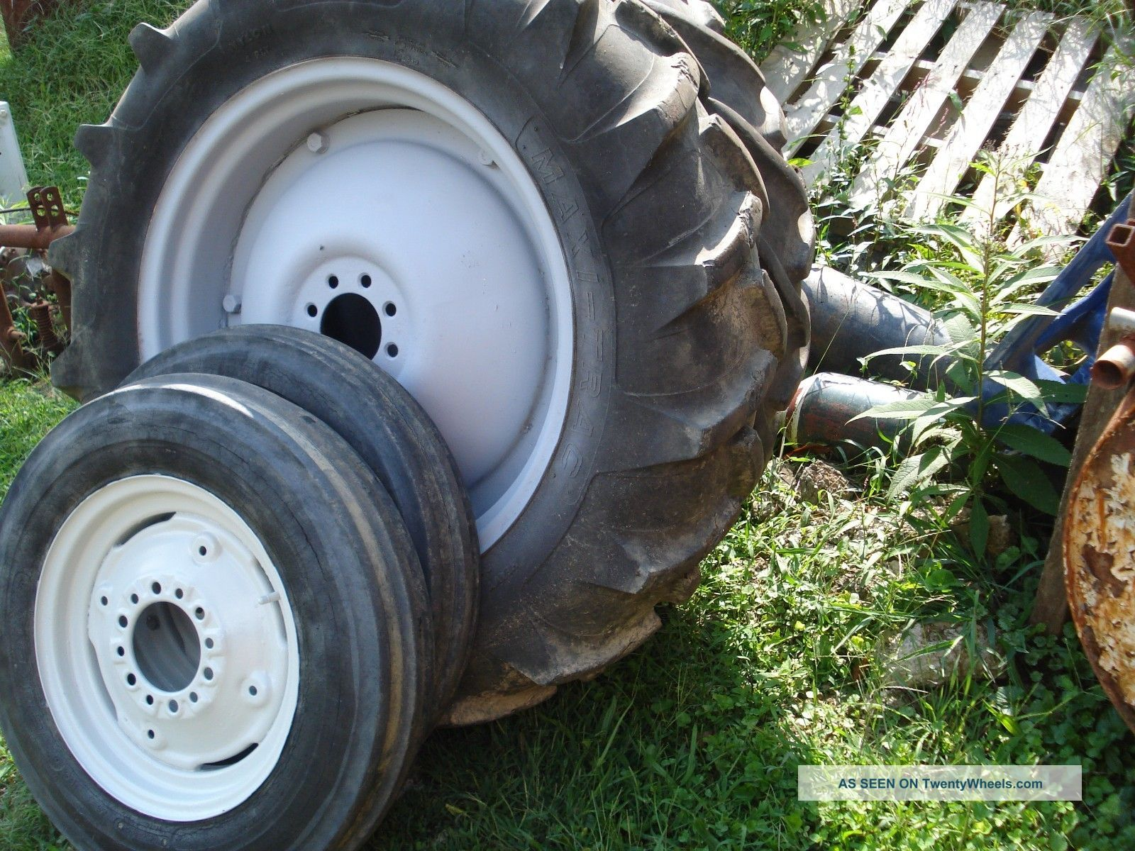 Farm Tractor Wheels And Rims : Ford tractor rear tires