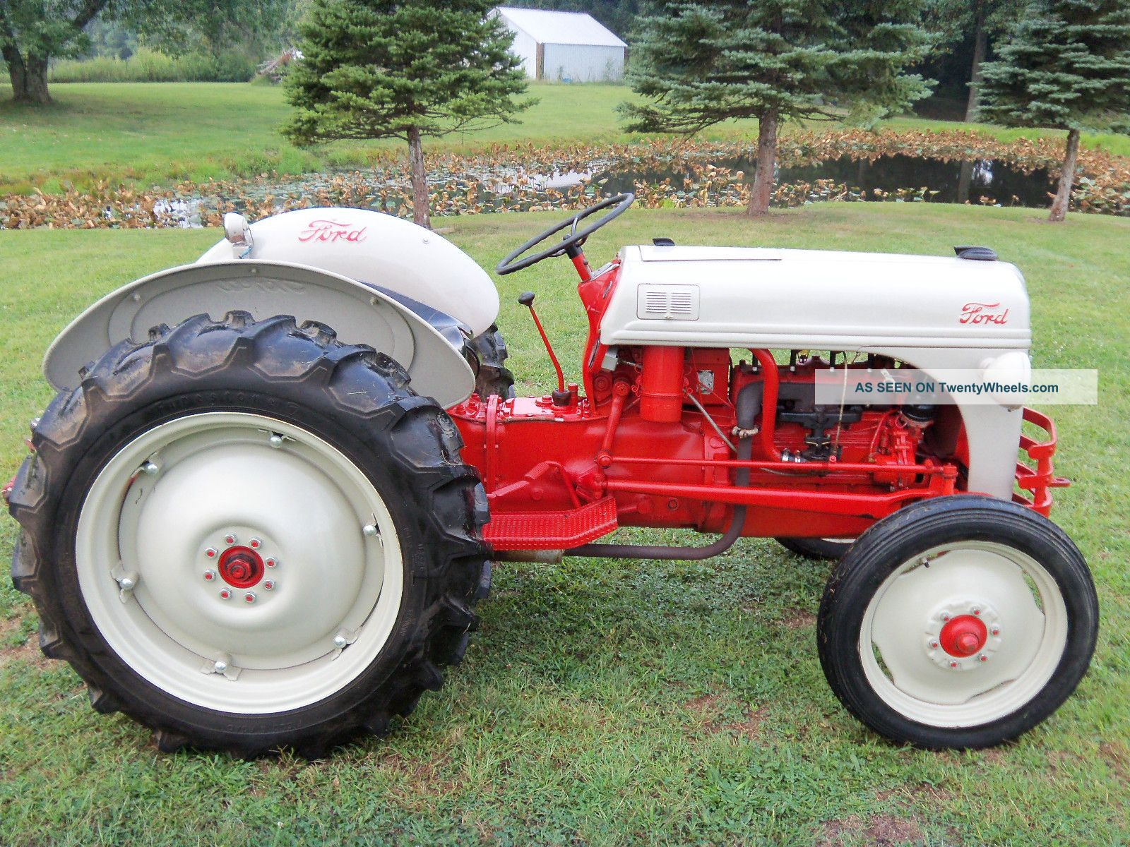 8n Ford Tractors : Ford n tractor completely restored