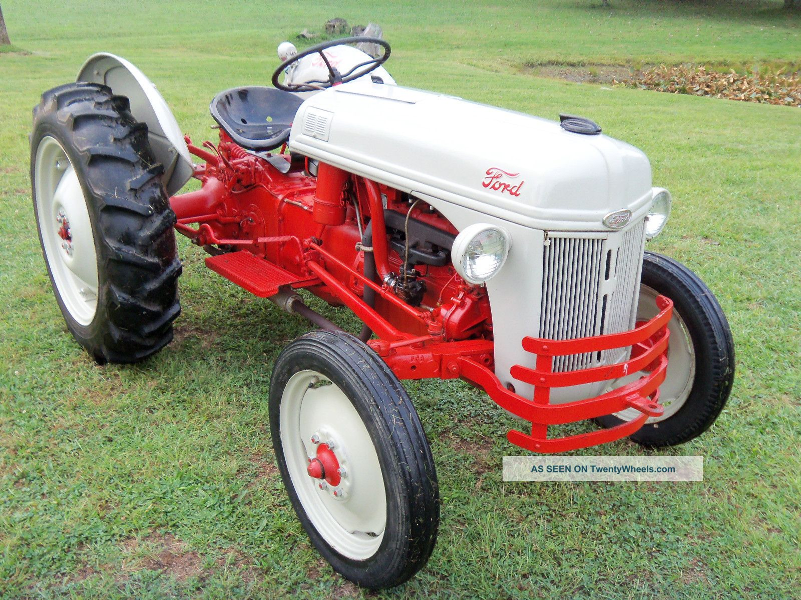 Ford 8n Tractor Dimensions : Ford n tractor completely restored
