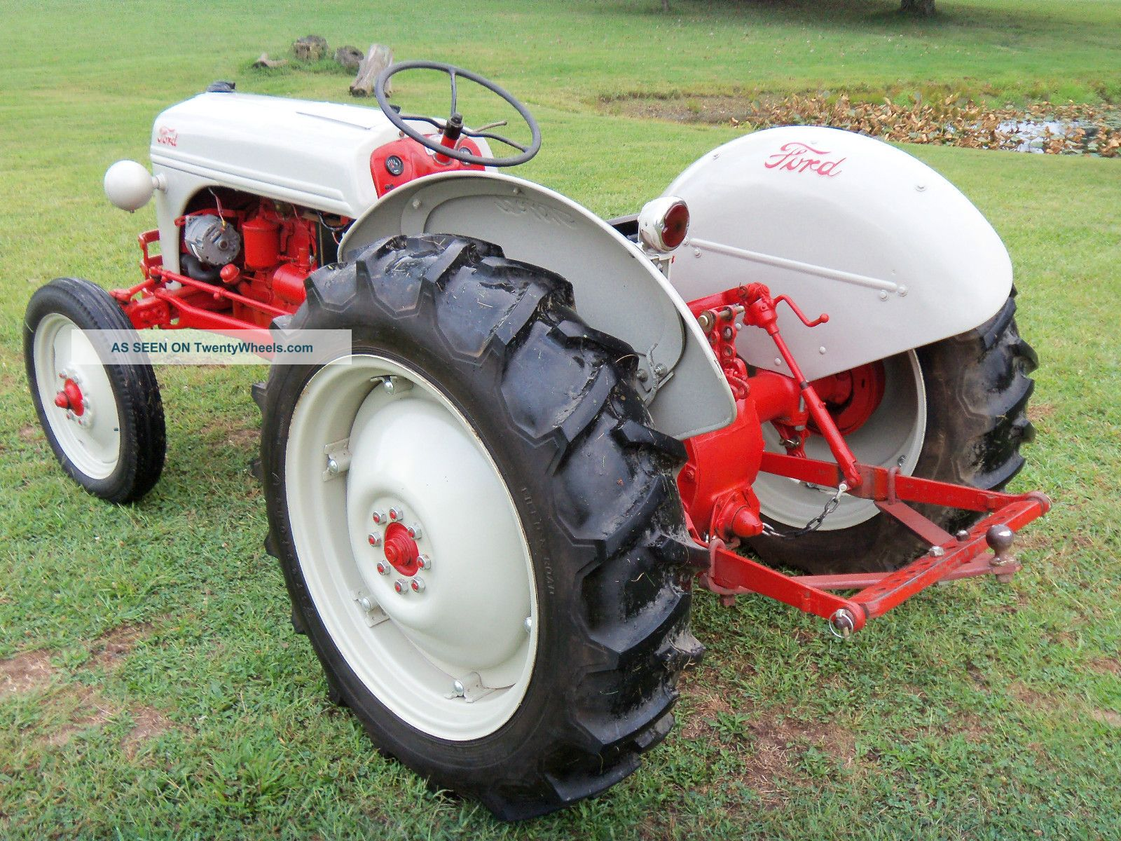 Ford 8n Tractor Dimensions : N ford tractor specs