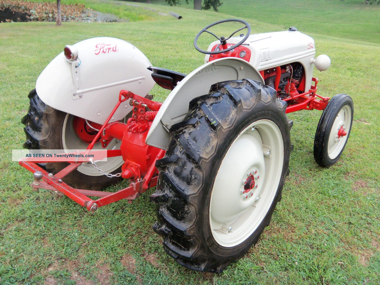 8n Tractor Specifications : N ford tractor specs