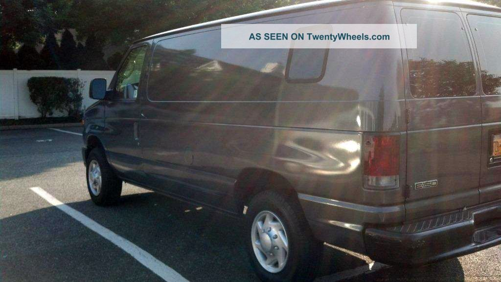 2008 Dark Gray Ford E150 Van