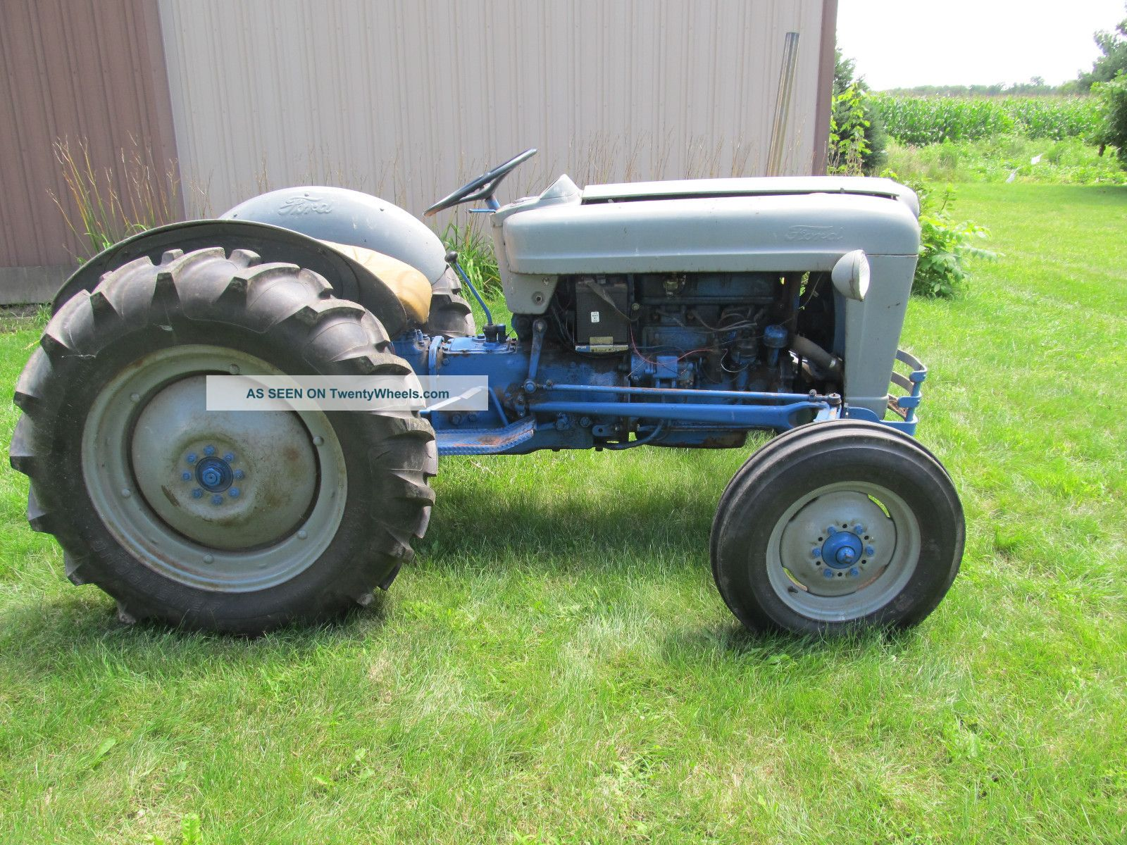 Ford Jubilee Parts : Data ford golden jubilee tractor