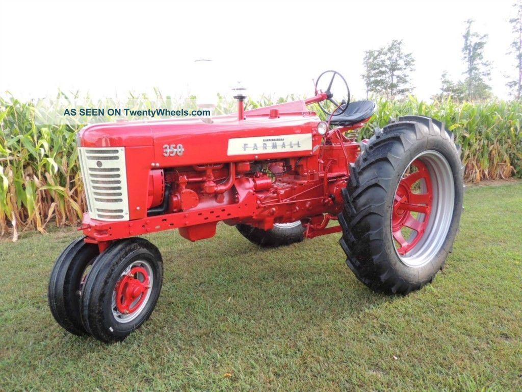 farmall tractor full restoration