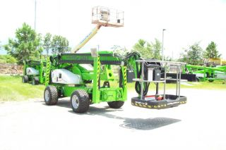 Nifty Sd64 70 Ft Boom Lift,  4wd,  Weighs 8700 Lbs,  2012 Factory Demo,  6 Monthwarranty photo