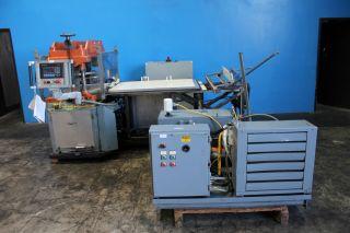 25 Ton F.  L.  Smithe Model Php - 700 Clicker Die Press,  S/n 45 photo