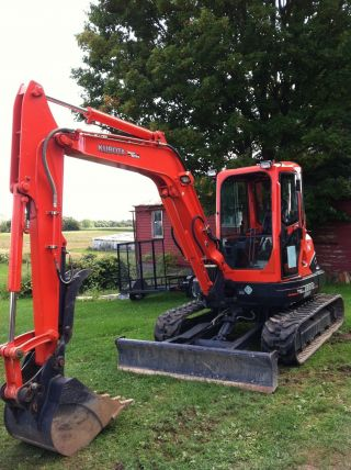 2007 Kubota Kx - 161 - 3 Cab - Heat&a/c 50 Hours photo