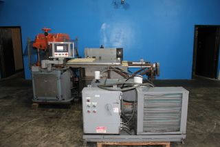 25 Ton F.  L.  Smithe Model Php - 700 Clicker Die Press,  S/n 3 photo