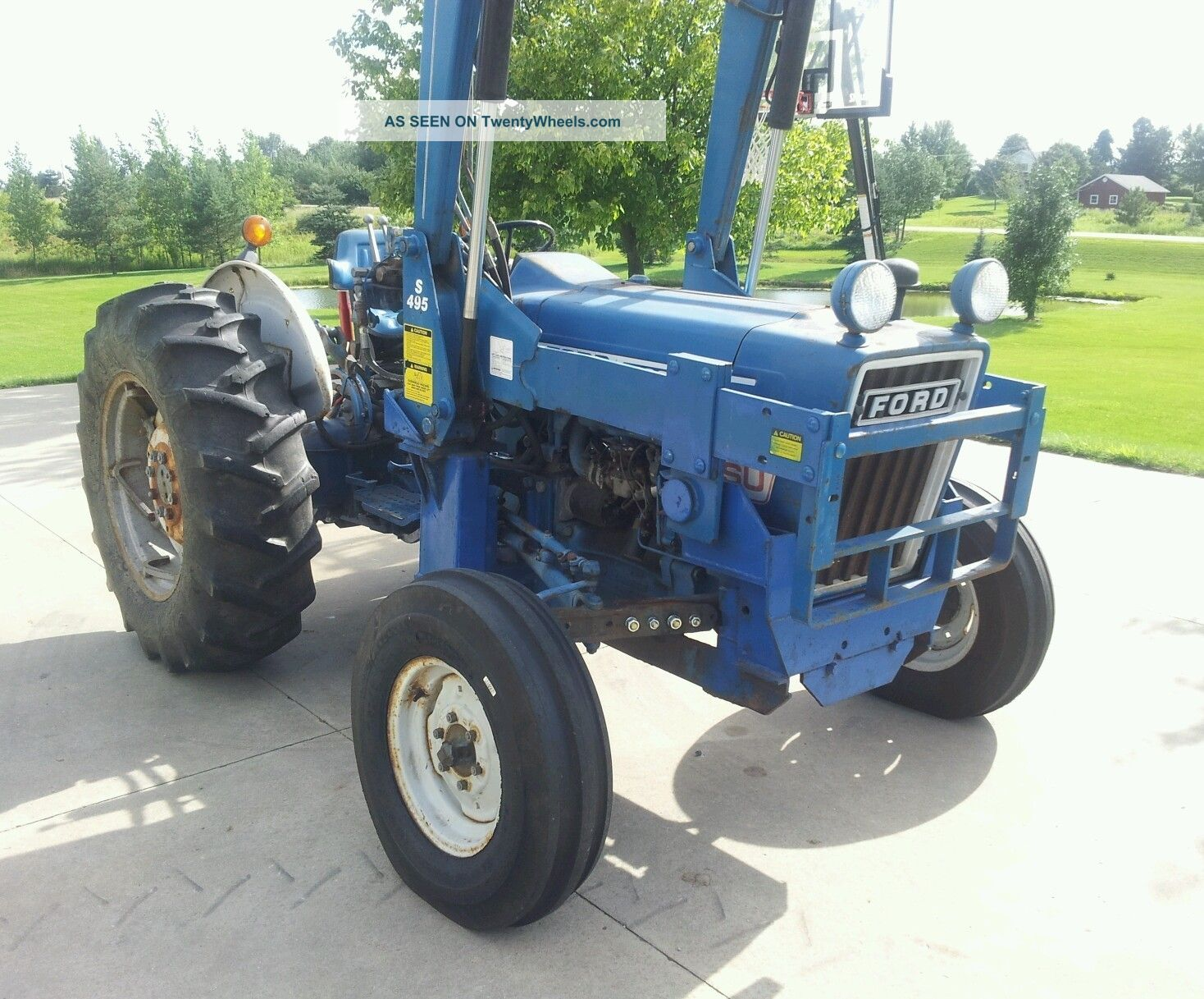 Ford 4600 Diesel Tractor Parts : Ford tractor