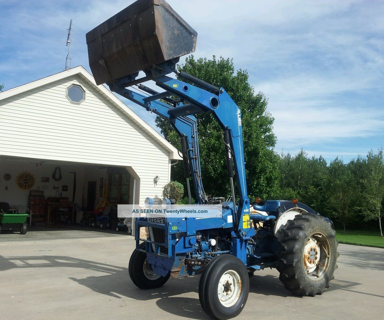 Ford 4600 Diesel Tractor Parts : Ford su tractor specs