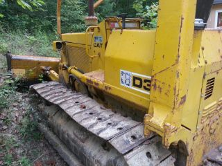 Cat D3 Dozer 1979 6 - Way Blade photo