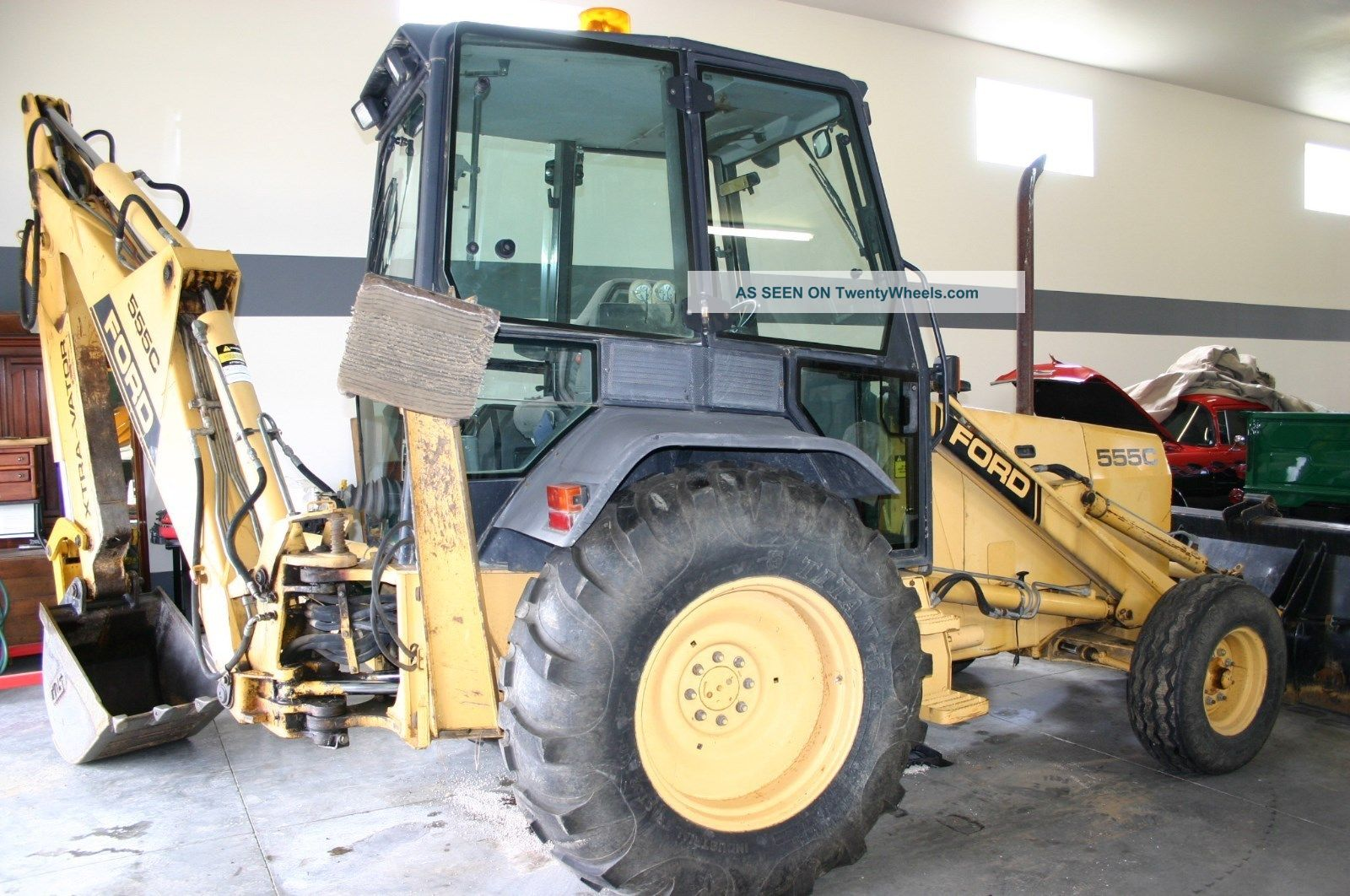 Ford 555c Backhoe Parts : Ford c backhoe specifications