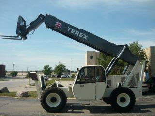 Genie Terex Gth1056 Th Telehandler Reach Forklift John Deere Turbo Telescopic photo