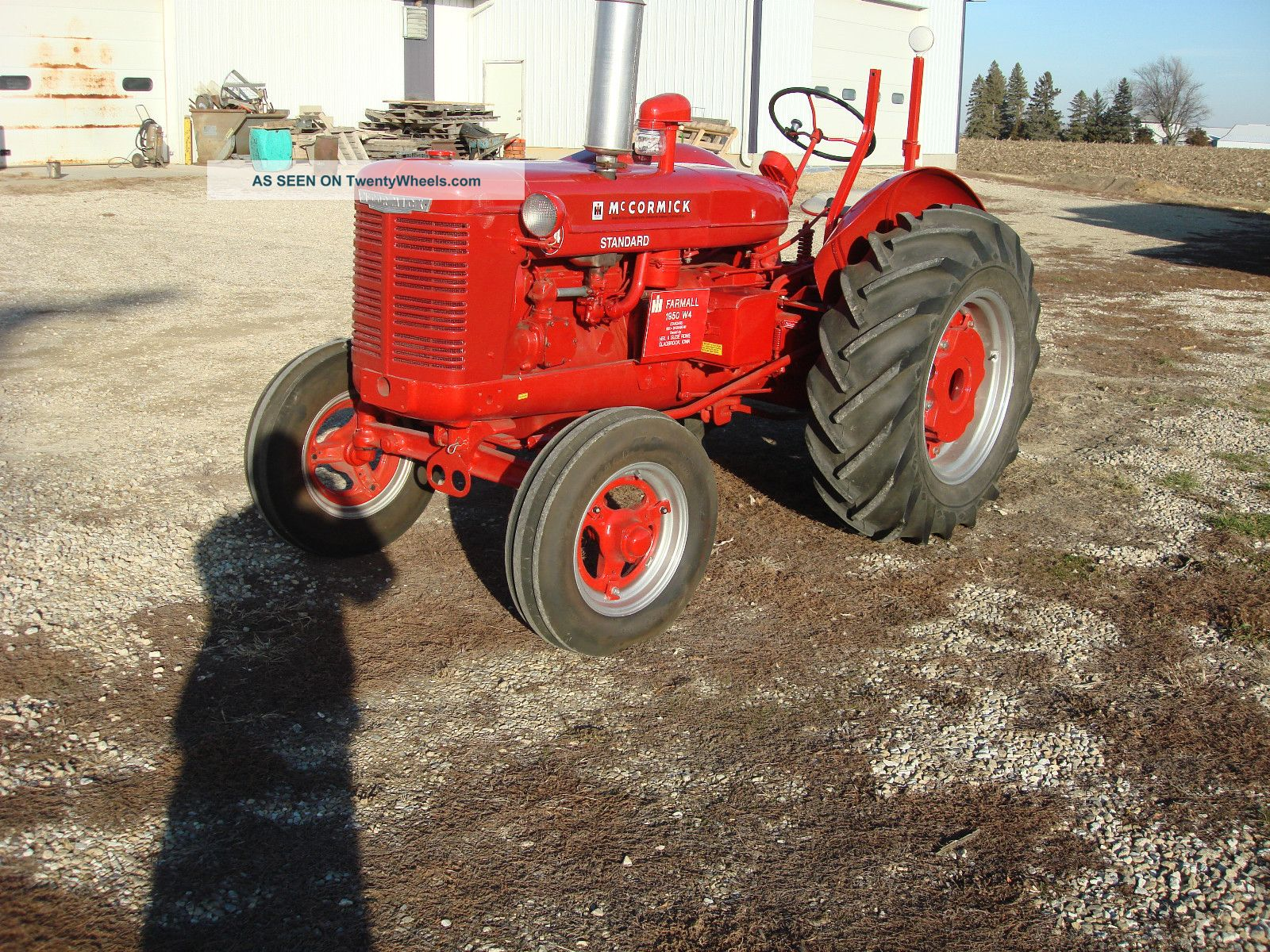 Antique Tractors Equipment : Antique tractor