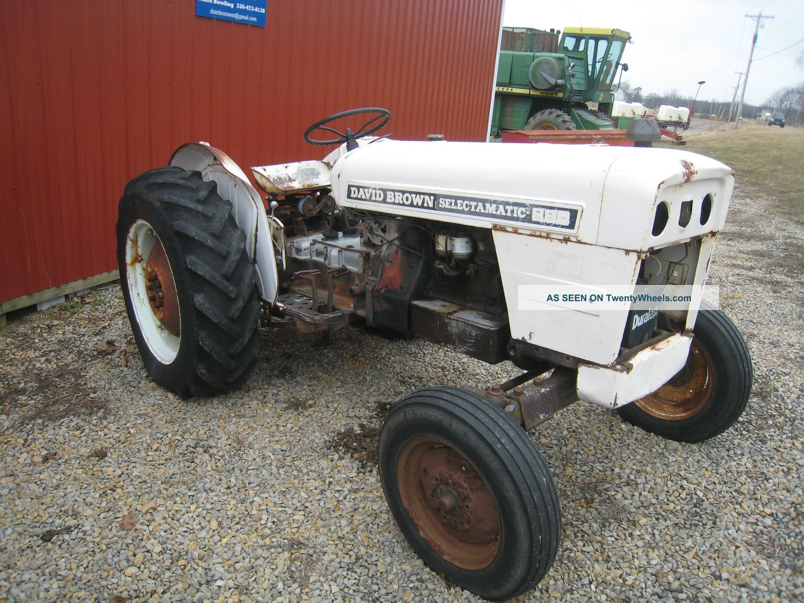 880 Ford Tractors : Wiring diagram for david brown tractor ford