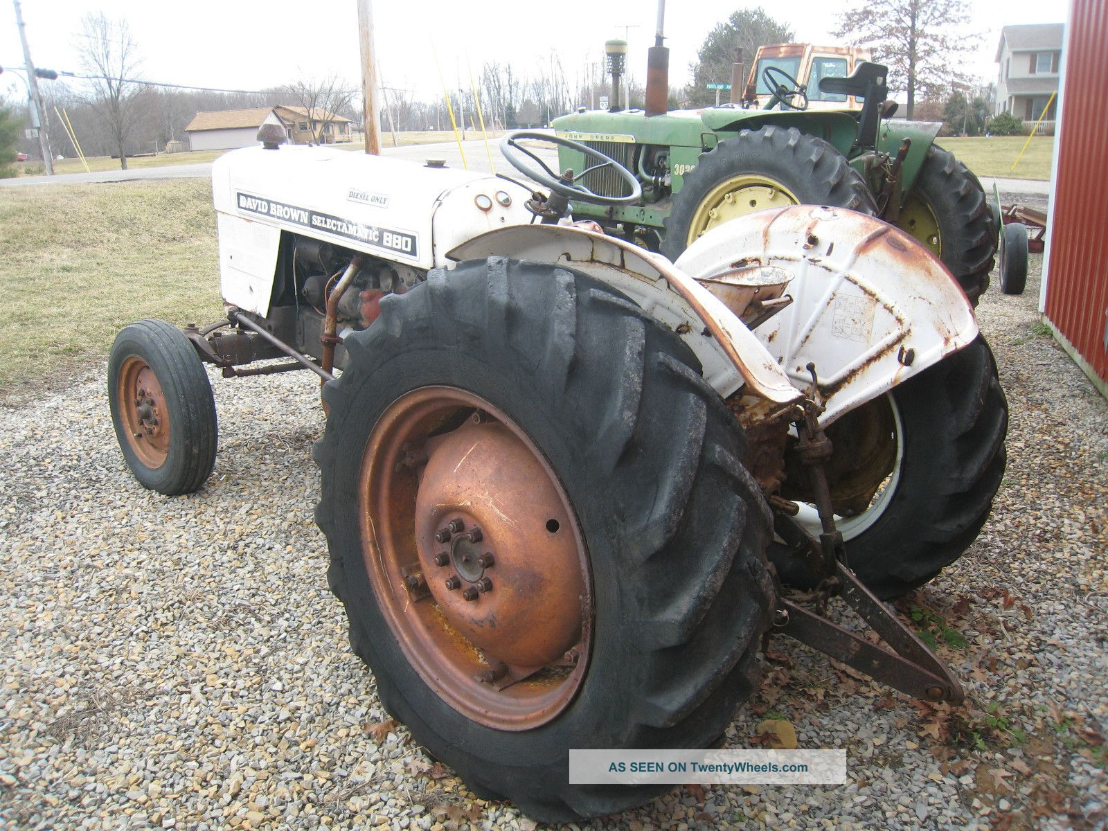 880 Ford Tractors : David brown tractor wiring diagram ford fairlane