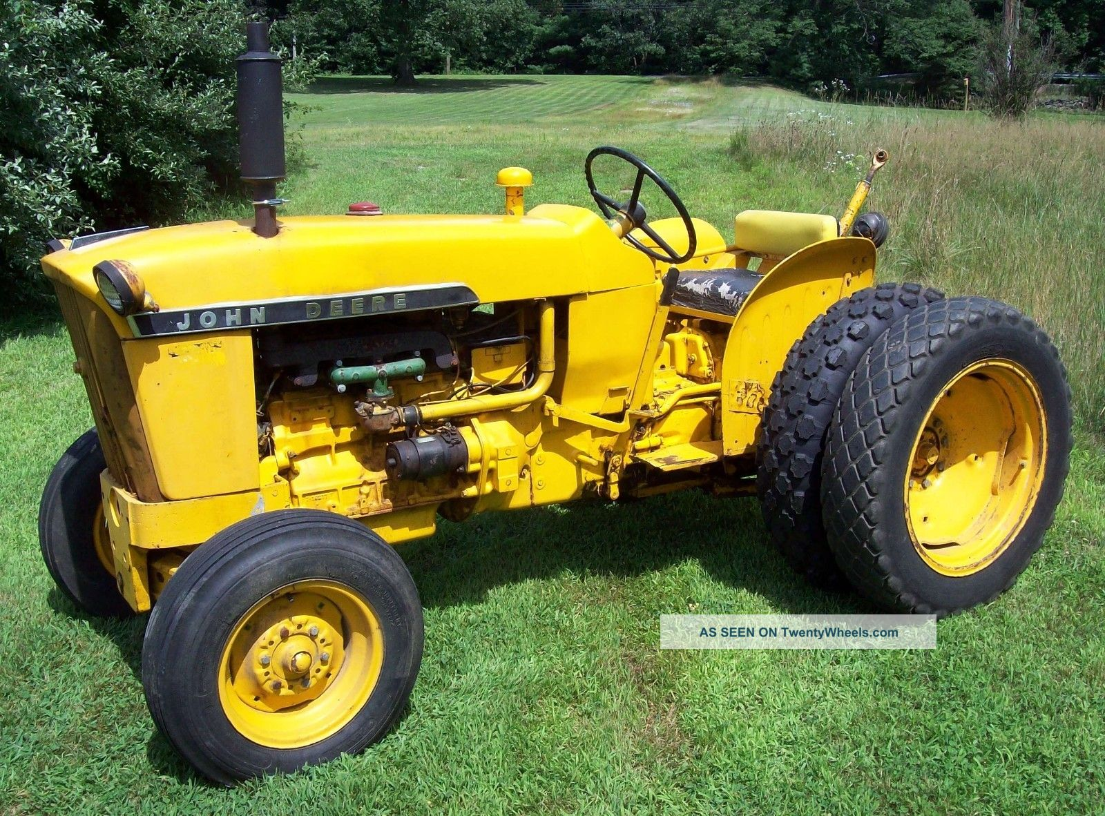 John Deere 1010 Turf Special : John deere gas tractor pictures to pin on