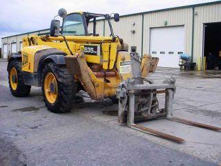 2007 Jcb 535 - 140 Telehandler Forklift,  8000 Lb,  Hyd Tilt Forks,  Hyd Stabalizers photo